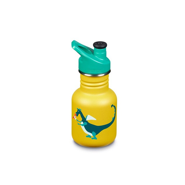 Botella Kids Klean Kanteen 355 ml sport cup Dragón