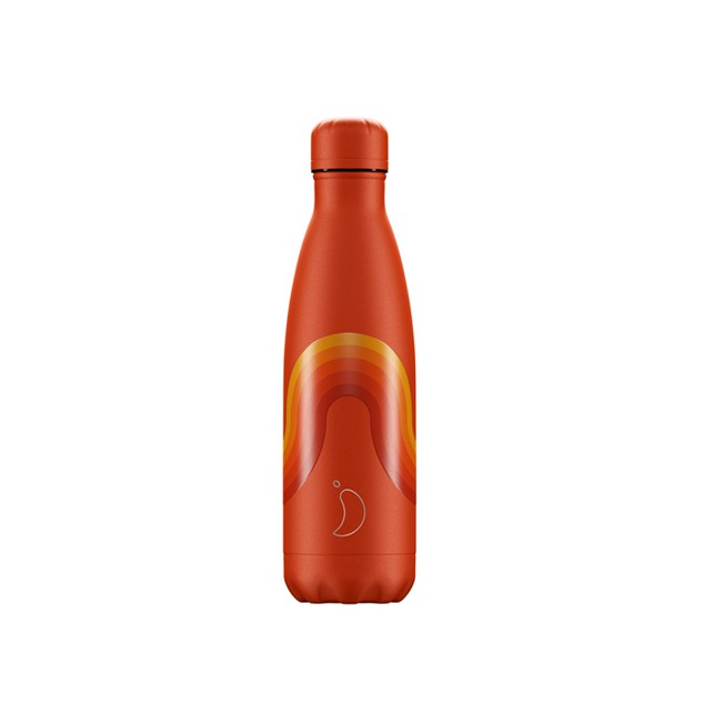 Botella termo 500ml Retro Naranja- Chilly's bottles