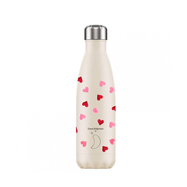 Botella termo 500ml Corazones - Chilly's bottles