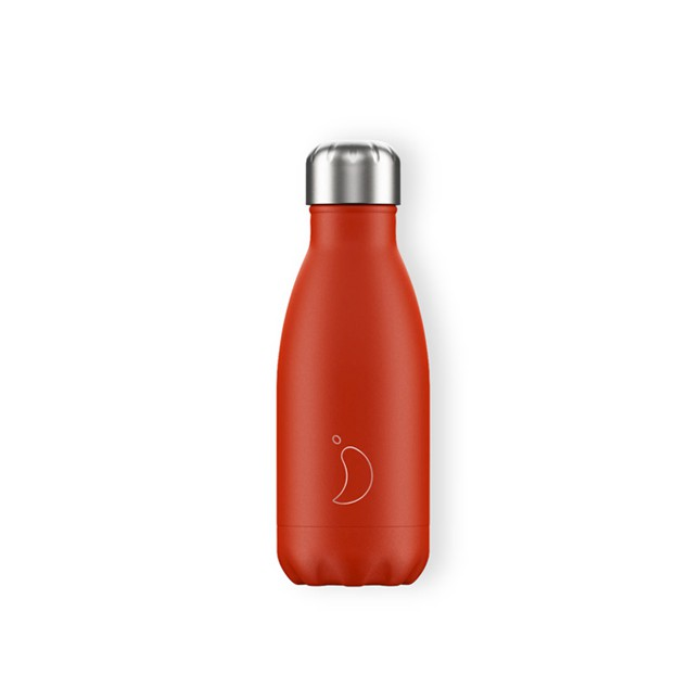 Botella termo 260ml Roja - Chilly's bottles