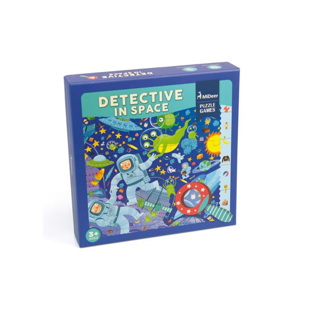 Puzzle Detective in Space - Mideer