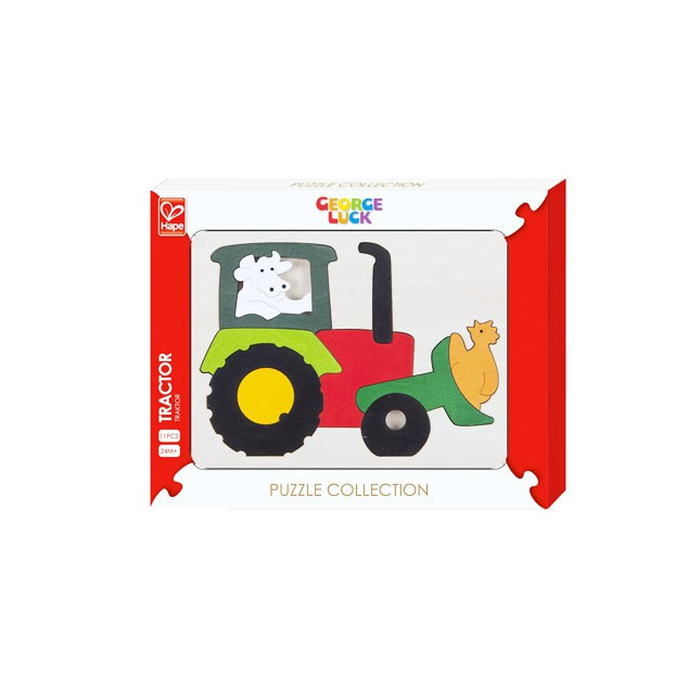 Puzzle George Luck Tractor