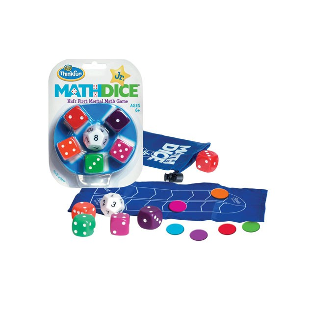 Math Dice Jr - Thinkfun