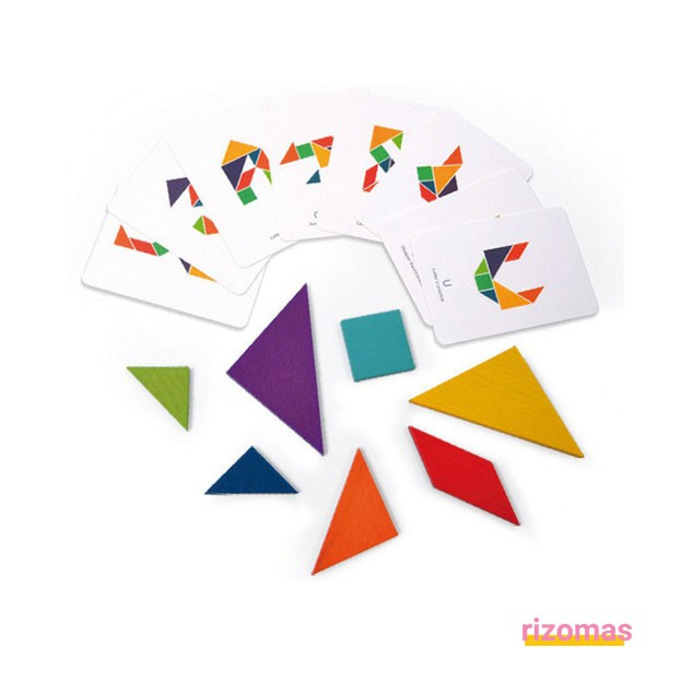 Colorful Tangram - Mideer