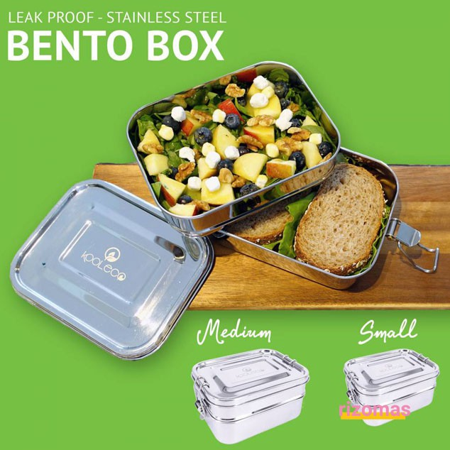 Bento Box Doble Small 400 / 425 ml - Kooleco