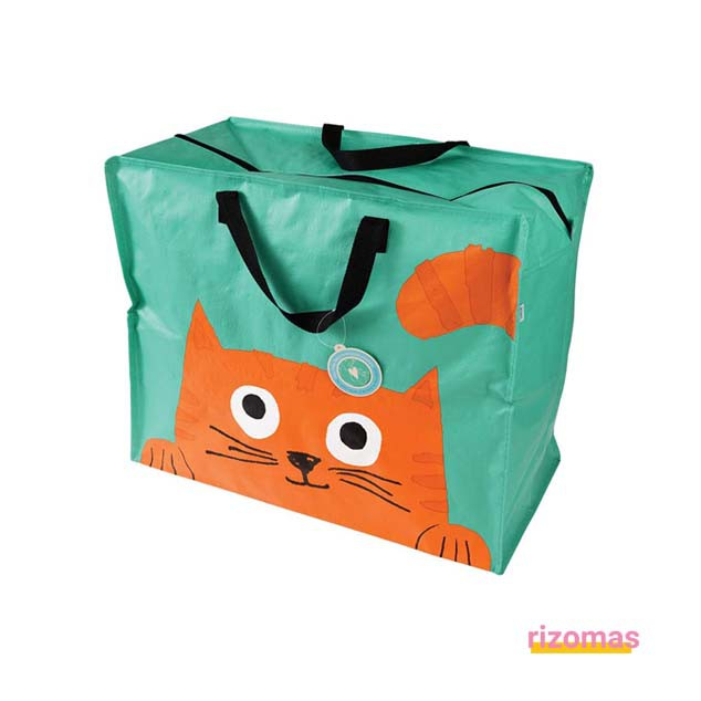 Bolsa Reutilizable Gato - Rex London
