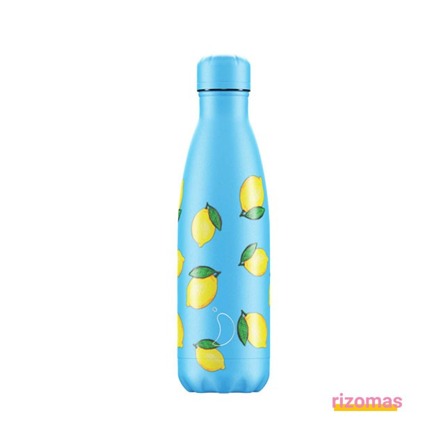 Botella termo 500 ml Limones - Chilly's bottles
