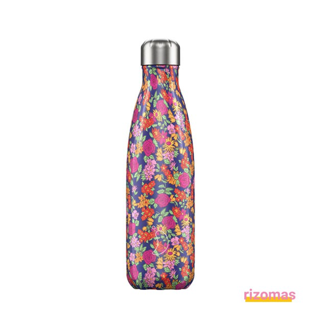 Botella termo 500 ml Flores Rosas - Chilly's bottles