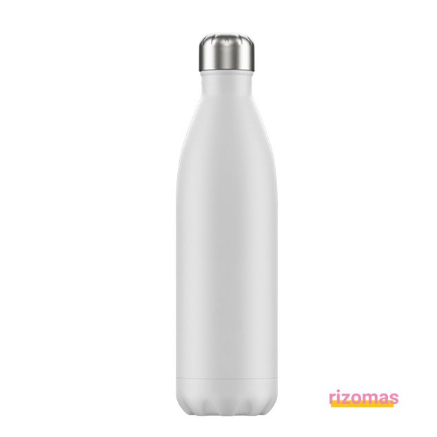 Botella termo 750 ml Blanca - Chilly's bottles