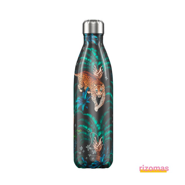 Botella termo 750 ml Leopardo - Chilly's bottles