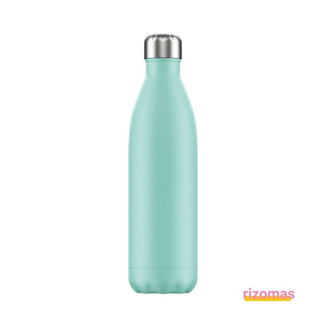 Botella termo 750 ml Verde Pastel - Chilly's bottles
