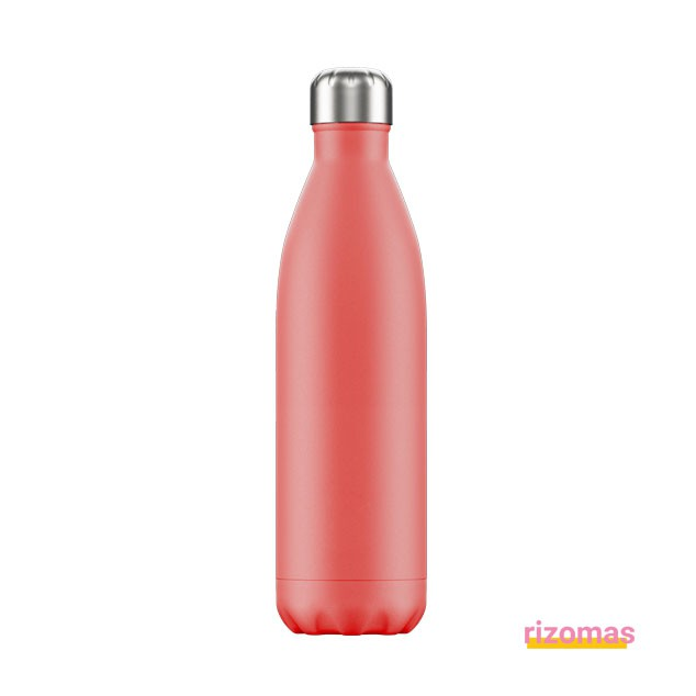 Botella termo 750 ml Coral Pastel - Chilly's bottles