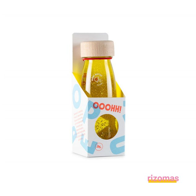 Botella Sensorial Amarilla - Float Bottle