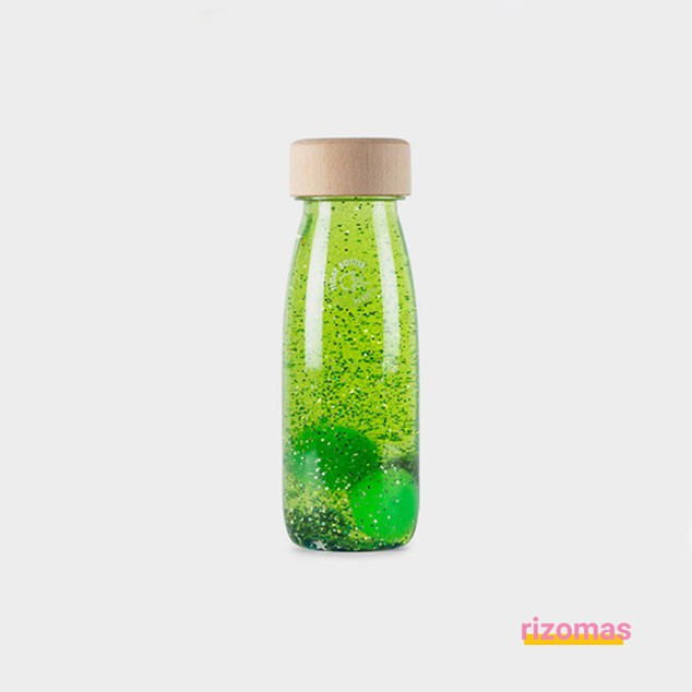 Botella Sensorial Verde - Float Bottle