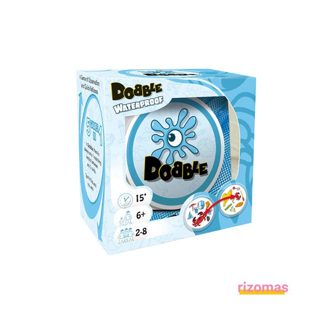 Juego De Cartas Impermeable - Dobble Waterproof