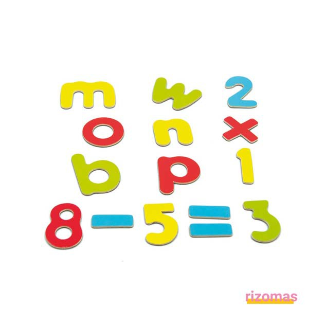 Magnetic Letters & Numbers - Andreu Toys