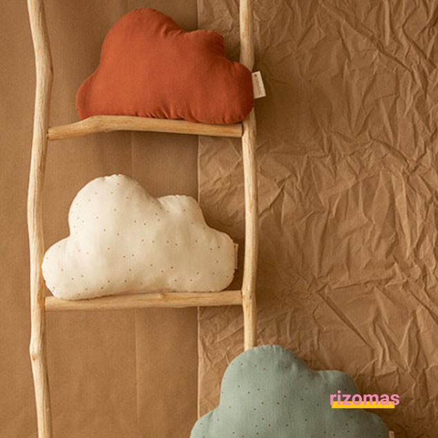 Cojín Cloud cushion toffee - Nobodinoz