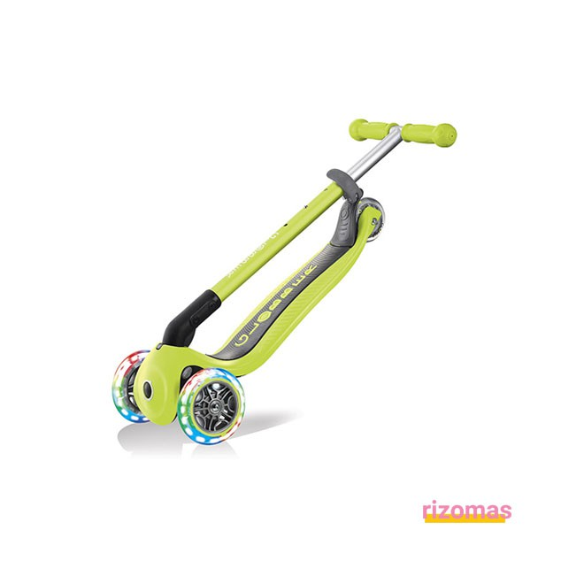 Patinete primo foldable lights Verde Lima - Globber