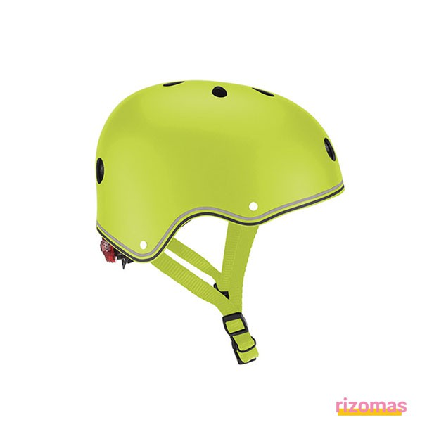 Casco junior primo lights sky Verde - Globber