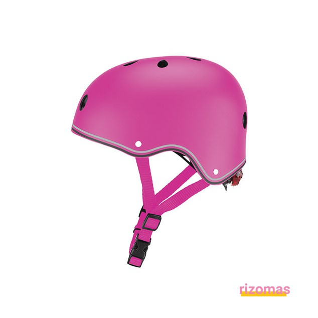 Casco junior primo lights sky Rosa - Globber