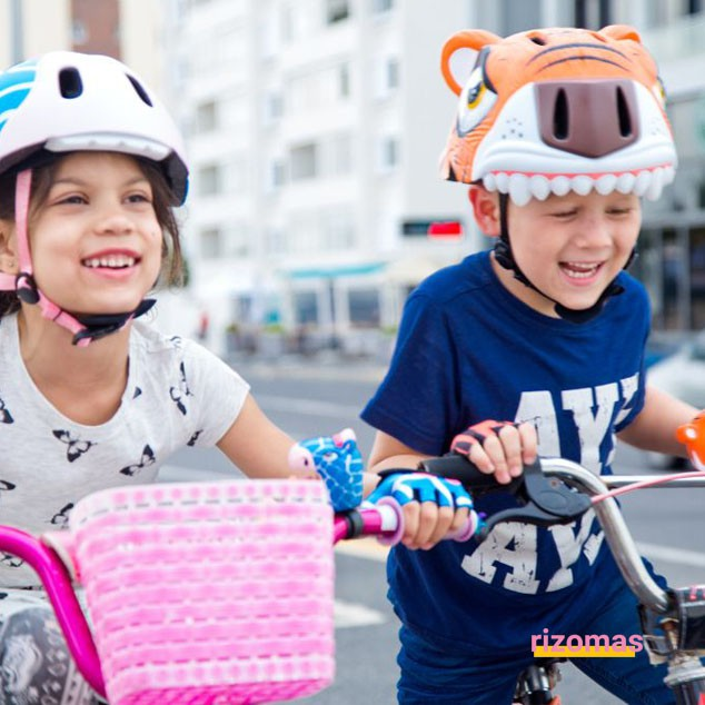 Casco Infantil Tigre - Crazy Safety