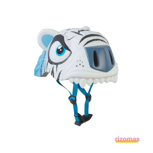 Casco Infantil Tigre Blanco - Crazy Safety