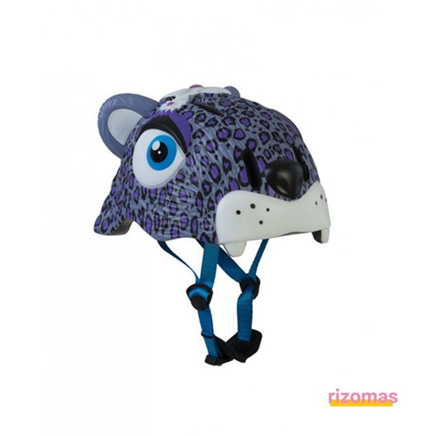Casco Infantil Leopardo Lila - Crazy Safety