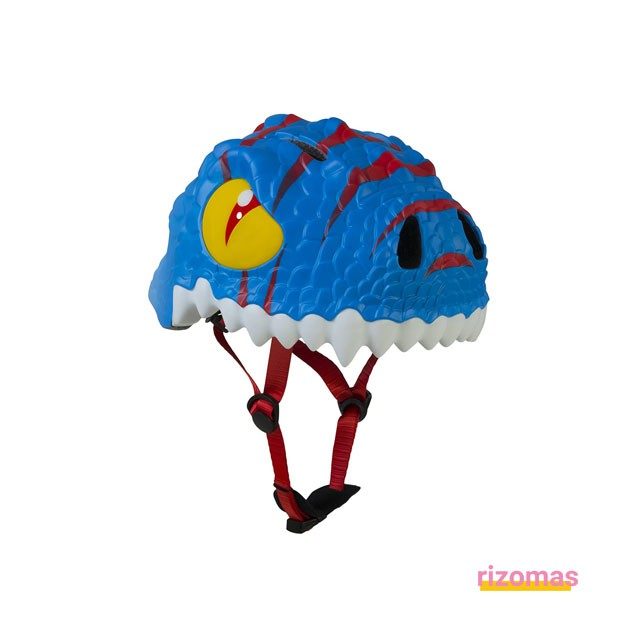Casco Infantil Dragón Azul - Crazy Safety