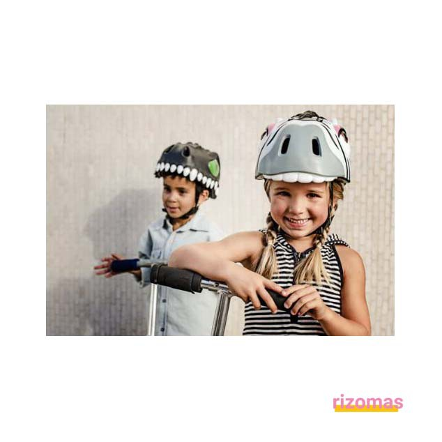 Casco Infantil Zebra - Crazy Safety