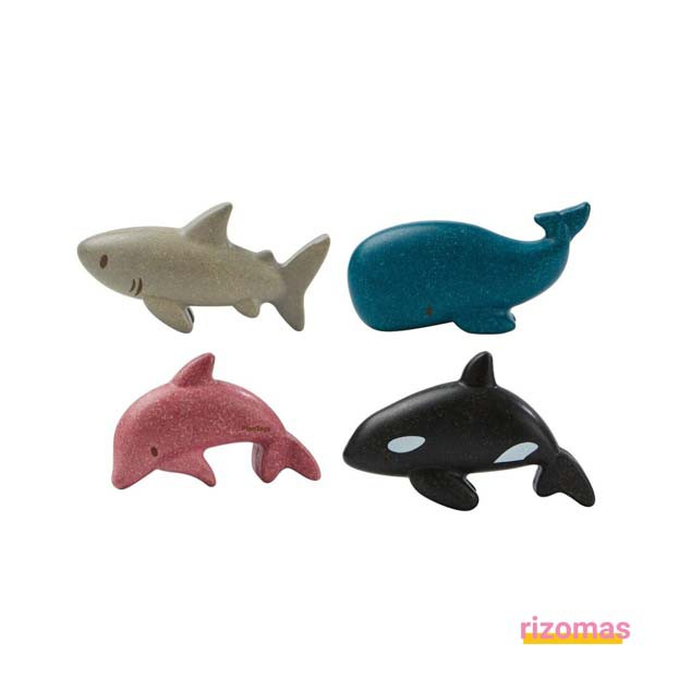 Set de Animales Marinos - Plantoys
