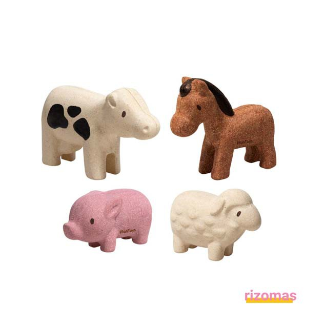 Set de Animales de la Granja - Plantoys