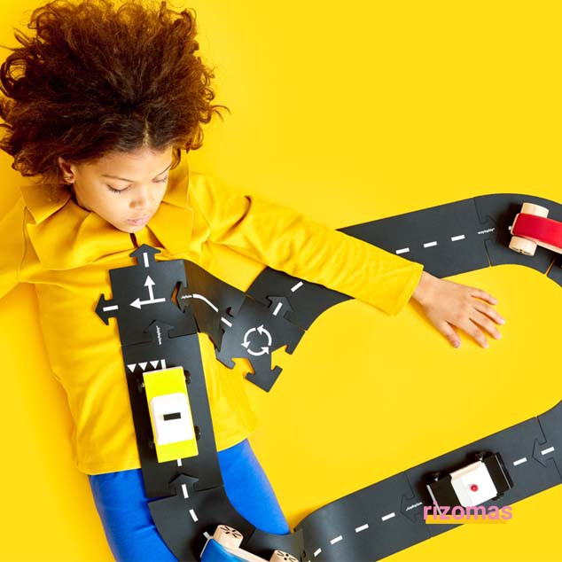 Carreteras flexibles 12 piezas - Waytoplay
