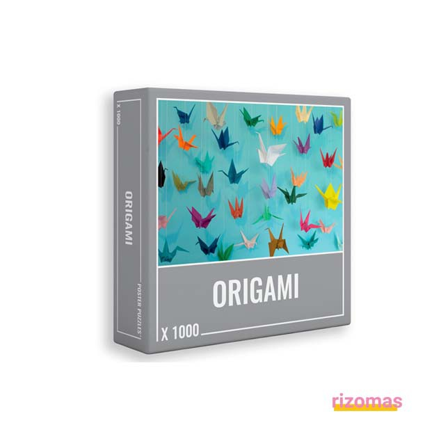 Puzzle Origami 1000 Piezas - Cloudberries
