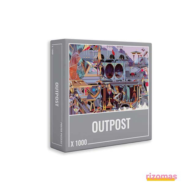 Puzzle Outpost 1000 Piezas - Cloudberries