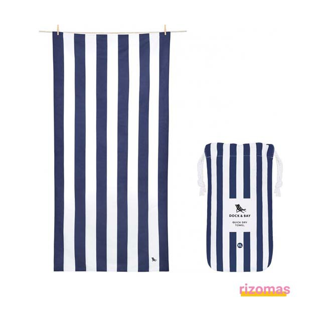 Toalla Dock & Bay Summer Cabana Navy