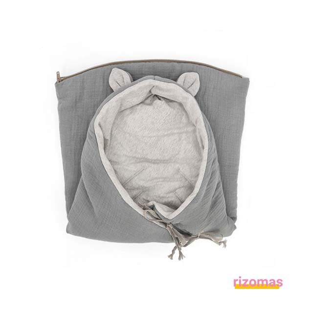 Saco Entretiempo Bamby GREY POWDER - Babyshower