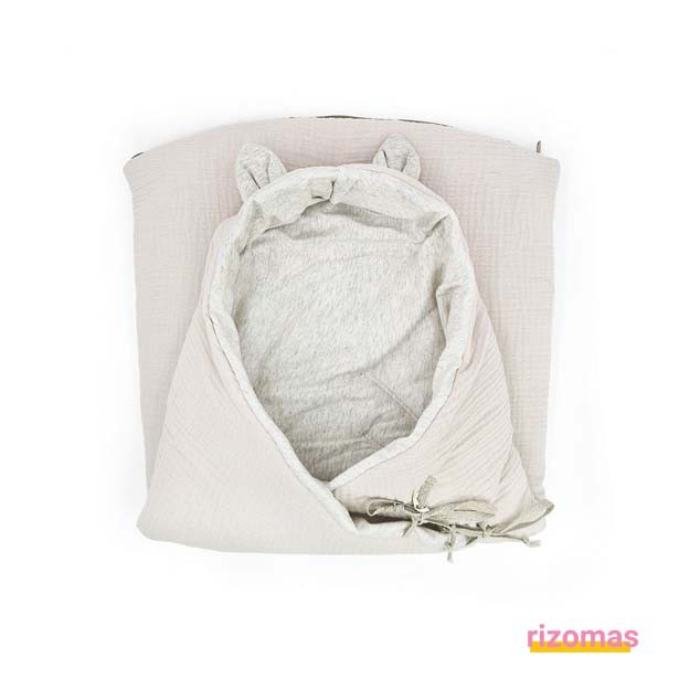 Saco Entretiempo Bamby CLOUD POWDER - Babyshower
