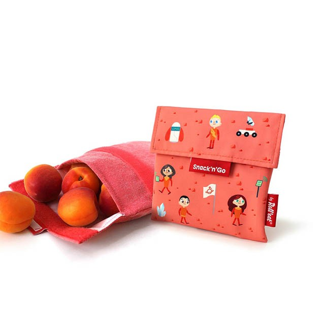 Bolsa de tela Snacks & go - Roll eat
