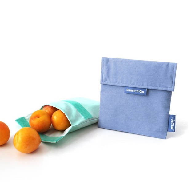 Bolsa de tela Azul Snacks & go - Roll eat