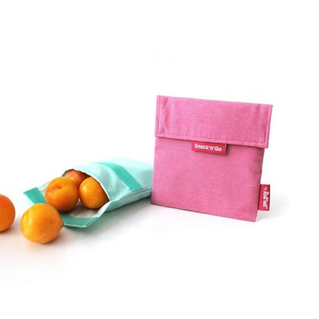 Bolsa de tela Violeta Snacks & go - Roll eat